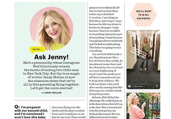 Ask Jenny!